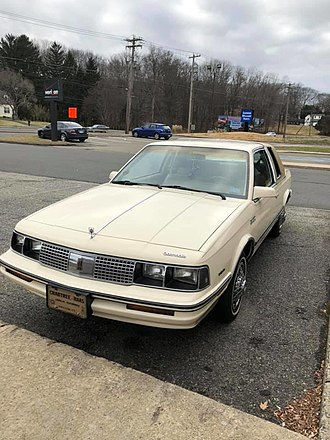 Oldsmobile Cutlass Ciera - 1985 Cutlass Ciera Holiday coupe (RPO WJ5) in Pastel Beige with Saddle top and interior.