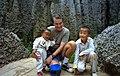 1996 -256-6 Kunming Stone Forest of Lunan (group leader) (5068480635).jpg