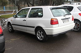 1996 Volkswagen Golf (1H) CL 3-door hatchback (21546390871).jpg