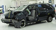 The 1998 Sienna Crash Tested By Insurance Insute For Highway Safety