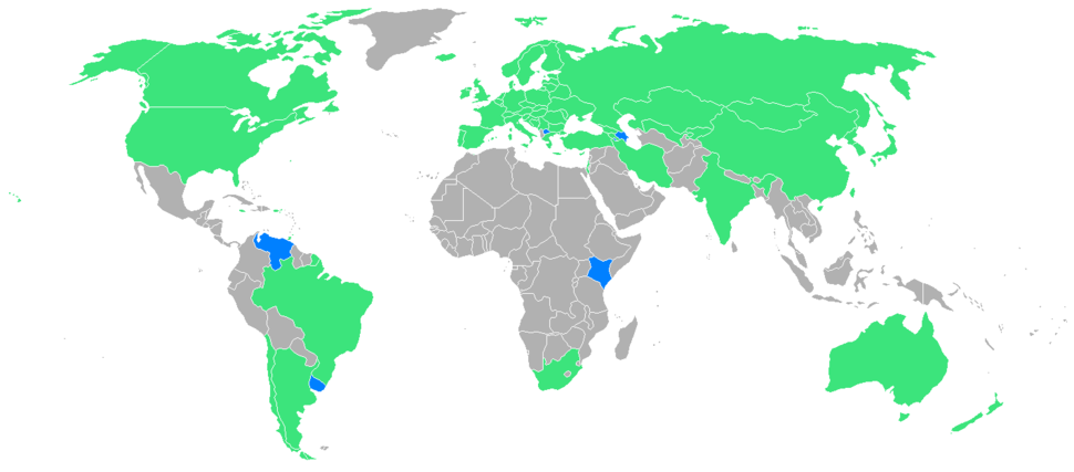 1998 Winter Olympic Games countries
