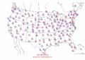 2002-09-09 Max-min Temperature Map NOAA.png