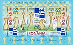 2002 Chess Olympiad Romanian stamp.jpg