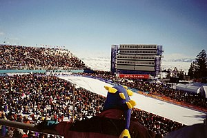 Nordic combined at the 2002 Winter Olympics - Nordic Combined cross-country skiing at Soldier Hollow.