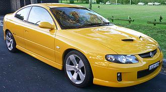 Rebadging - Holden VZ Monaro CV8Z