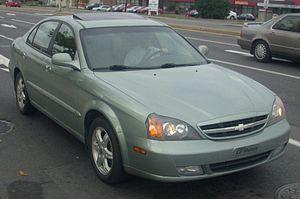 Daewoo Magnus - Chevrolet Epica (Canada)