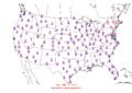 2006-01-16 Max-min Temperature Map NOAA.png