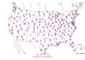 2006-04-30 Max-min Temperature Map NOAA.png