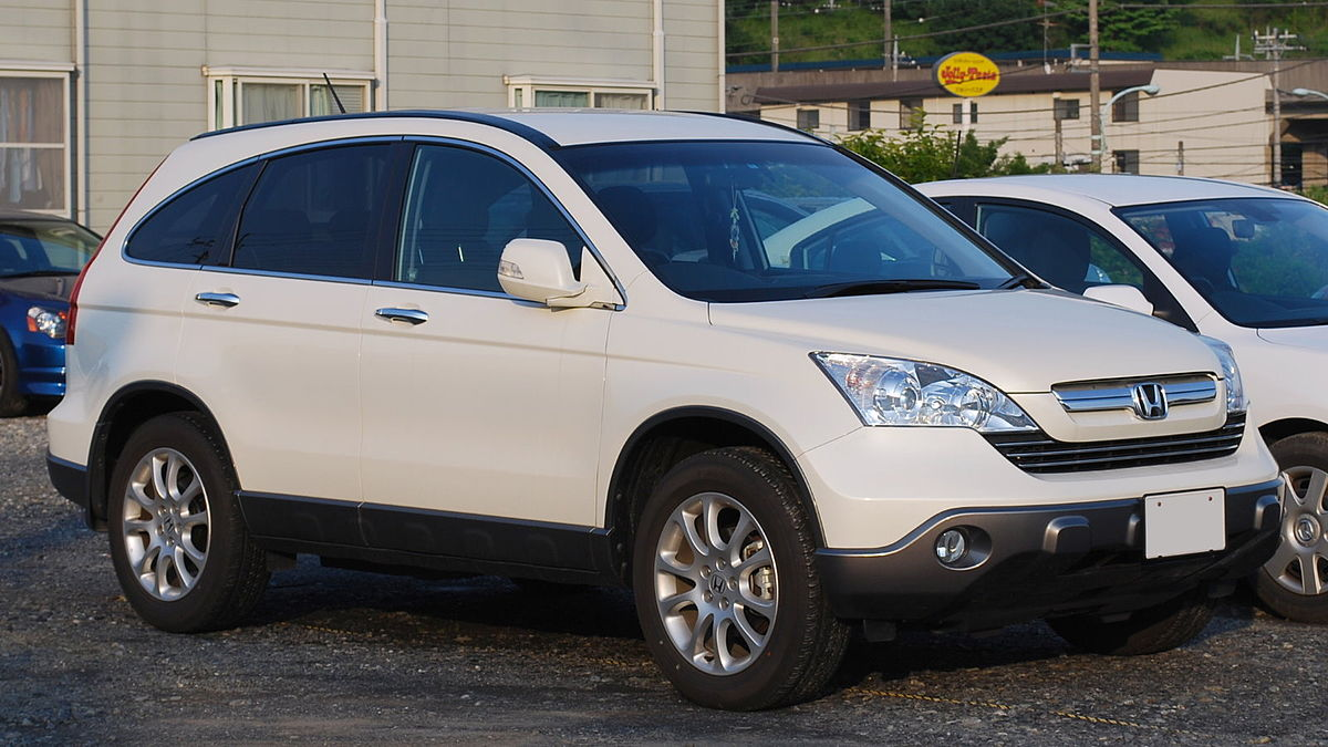 honda cr v third generation wikipedia