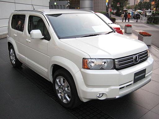 2007 Honda Crossroad front view