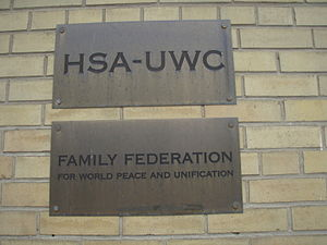 """""""Family Federation for World Peace and Un..."""