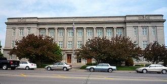 Douglas County, Wisconsin - Image: 2009 0617 Superior Douglas Cty Court