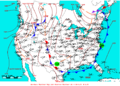 2009-07-19 Surface Weather Map NOAA.png