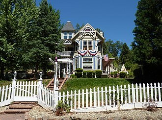 National Register of Historic Places listings in El Dorado County, California - Image: 2009 0724 Placerville C Bhouse
