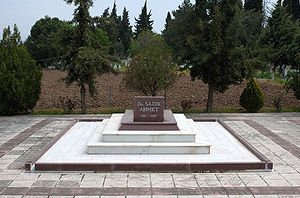 Sadik Achmet - Grave of Sadik Achmet in Komotini