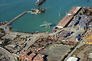 Port international de Port-au-Prince - Aftermath of the 2010 Haiti earthquake, 13 January 2010