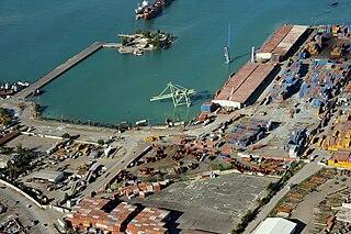 Port international de Port-au-Prince Port in Haiti