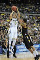 20130323 Trey Burke shooting during NCAA tournament.jpg