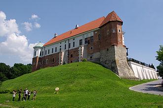 Sandomierz Castle - The west wing of the castle