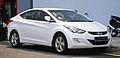 2013 Inokom (Hyundai) Elantra 1.6 GLS (Standard or High Spec) in Cyberjaya, Malaysia (01).jpg
