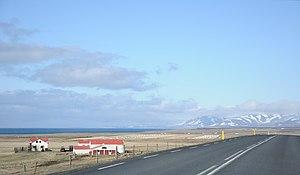 Húnaþing vestra - Image: 2014 04 27 15 30 39 Iceland Blönduósi Blönduós