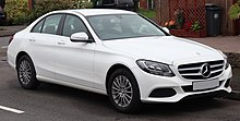 2014 Mercedes-Benz C200 SE Executive Automatic 2.0 Front.jpg