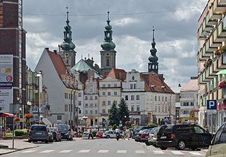 Nysa, Poland - Old town