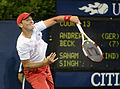 2014 US Open (Tennis) - Qualifying Rounds - Andreas Beck (14869612490).jpg