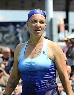 Svetlana Kuznetsova Russian tennis player
