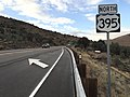 2015-10-28 17 24 40 First reassurance sign along northbound U.S. Route 395 in Douglas County, Nevada.jpg