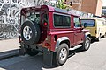 2015 Land Rover Defender (L316 MY15) 90 3-door wagon (2015-10-24) 02.jpg