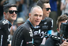 Christopher Froome en 2015