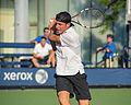 2015 US Open Tennis - Qualies - Jose Hernandez-Fernandez (DOM) def. Jonathan Eysseric (FRA) (20344703523).jpg