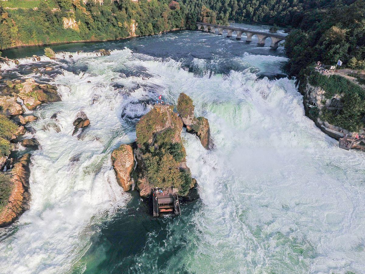 Image result for Rheinfall Waterfalls - Schaffhausen
