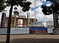 2016 Woolwich, Royal Arsenal, Waterfront construction site 14.jpg