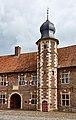 20170423 Schloss Raesfeld, Treppenturm Vorburg, Raesfeld (07960).jpg