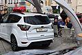 2017 Ford Kuga Mk2 facelift rear EU specification (white) 1.jpg