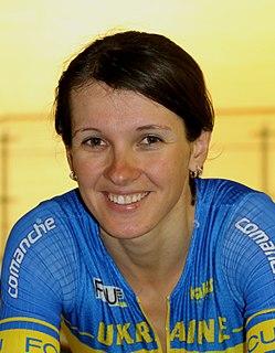 Anna Nahirna Ukrainian cyclist