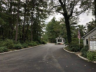 Pine Valley, New Jersey - Entrance to Pine Valley