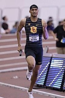 Michael Norman (sprinter) American sprinter