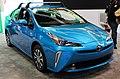2019 Toyota Prius Hybrid XLE AWD (XW50 facelift) front NYIAS 2019.jpg