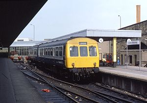 Rolls-Royce C range engines - Class 111 DMU with twin C6NFLH in each power car