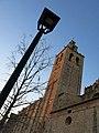 245 Monestir de Sant Cugat del Vallès, façana sud, campanar.JPG