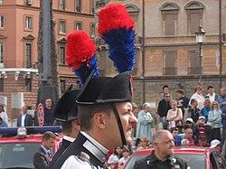 definition of carabinier