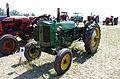 3ème Salon des tracteurs anciens - Moulin de Chiblins - 18082013 - Tracteur John Deere 40 W - 1946 - gauche.jpg