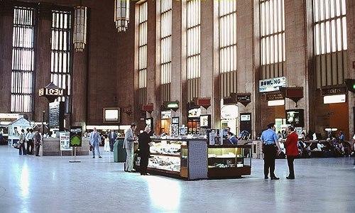 30th Street Station interior, August 1976