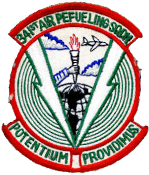 341st Air Refueling Squadron - Image: 341st Air Refueling Squadron SAC Patch