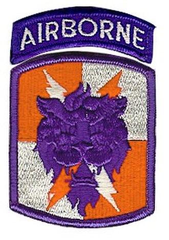 Order of battle of the Gulf War ground campaign - Image: 35th Signal Brigade CSIB