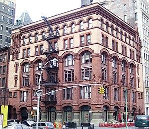 Lafayette Street - Commercial Romanesque: the Schermerhorn Building (Henry Janeway Hardenbergh, 1888) at 3rd Street