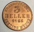 3 heller Hessen-Kassel 1866 reverse.jpg